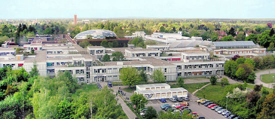 Gebouwencomplex van de Freie Universität Berlin