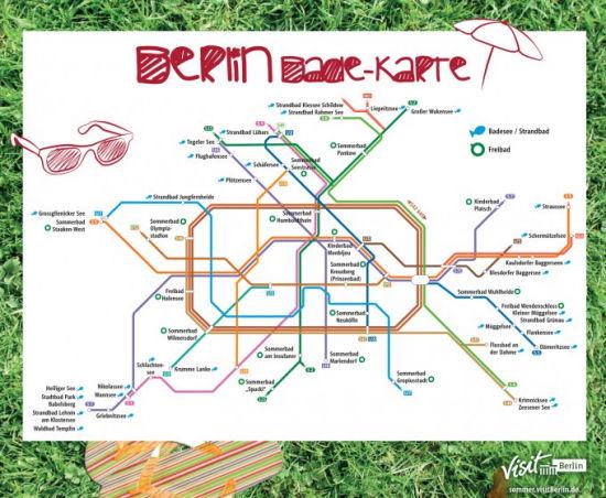 U-Bahn Badeseen Map