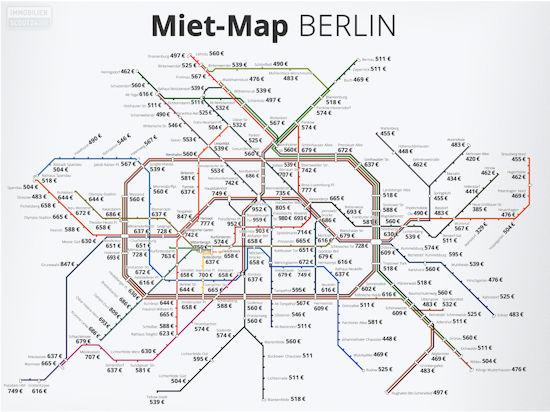 Miet Map Berlin
