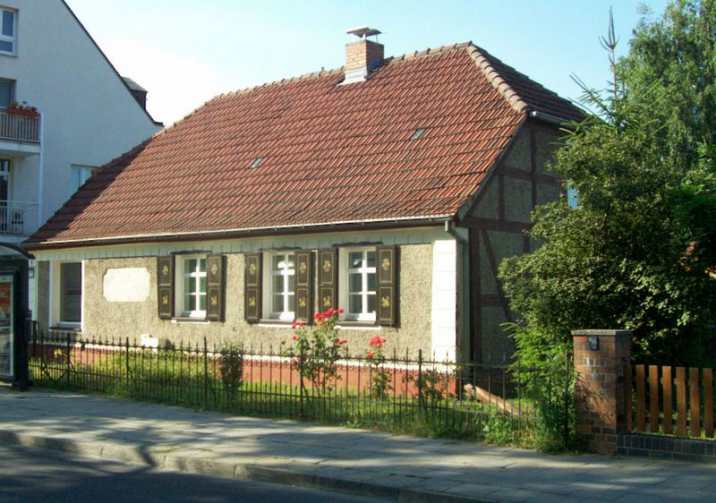 Het Büdnerhaus op Dorfstraße 23