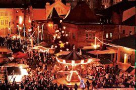 Lucia Weihnachtsmarkt in de Kulturbrauerei